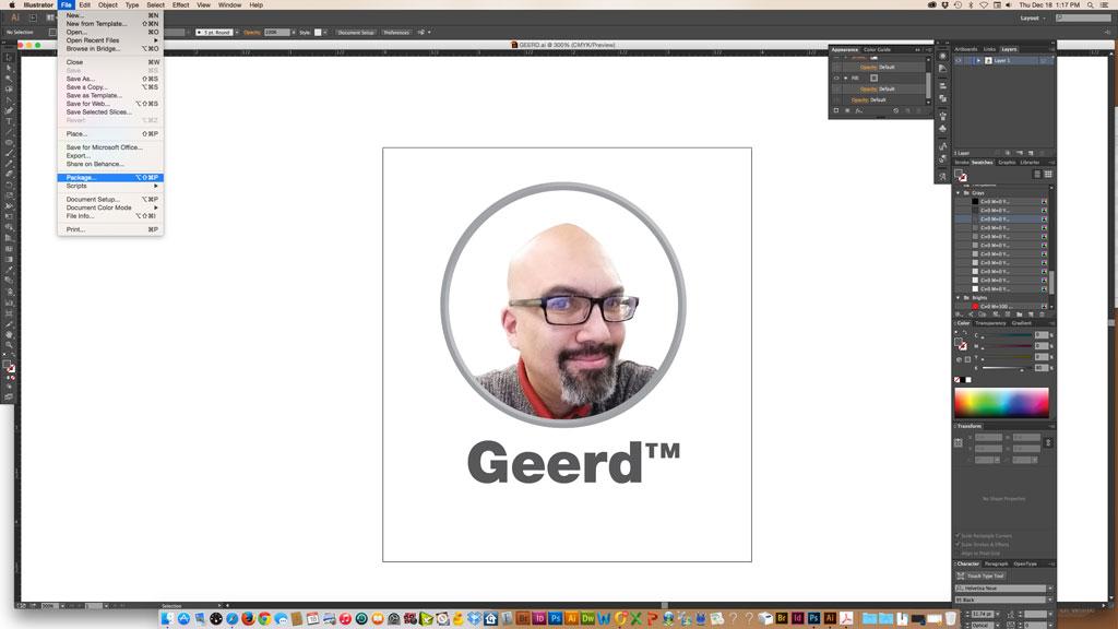 GEERD-pkg-menu