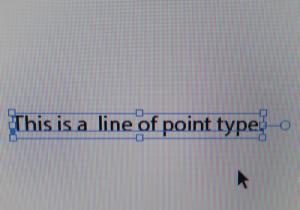 point type- original