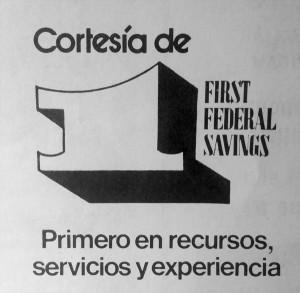 First Federal Savings-- circa 1970s