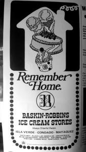 Baskin Robbins ad