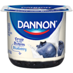 Dannon blueberry yogurt pack